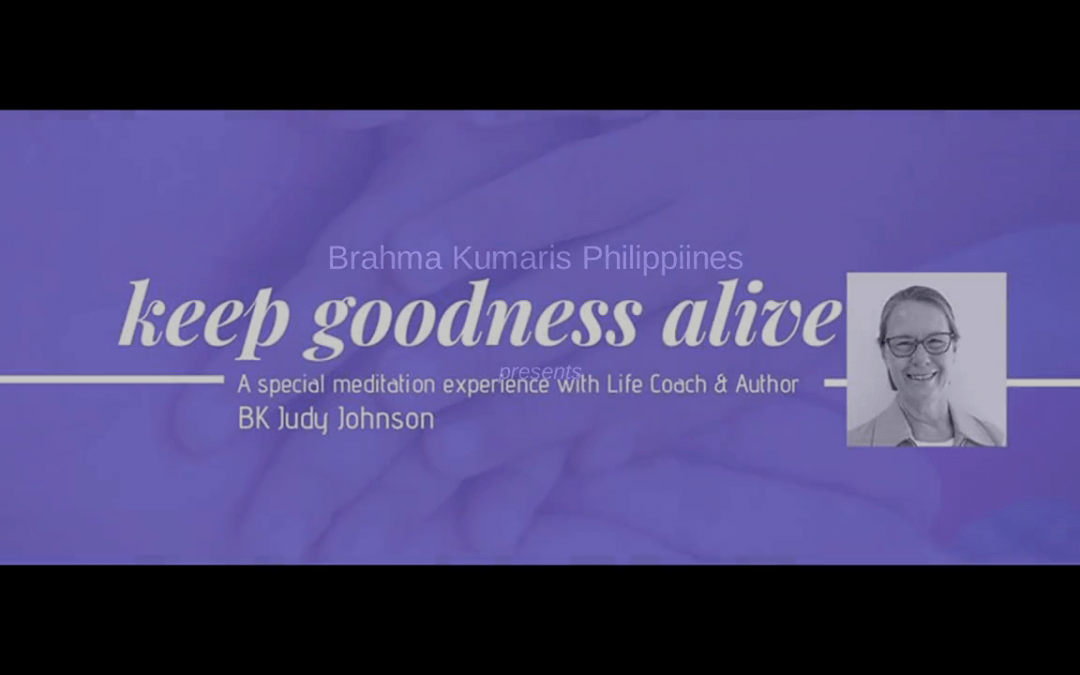 Keep Goodness Alive: video program