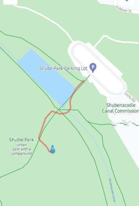 Shubie Treasure Hunt #4 (Hilltop)